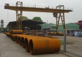 Chế tạo thiết bị cơ khí thủy công cho Nhà máy thủy điện Nậm Cắn
