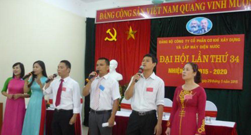 Đại hội Đảng bộ Công ty lần thứ 34