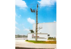 Thi công đường dây 22kV và cầu dao phụ tải cấp điện cho Nhà máy Logitem