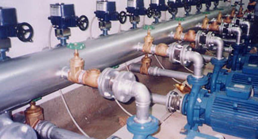 Cung cấp lắp đặt các thiết bị đường nước