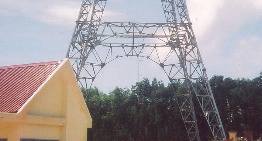 Thi công lắp dựng cột anten PTTH VHF75 Quỳ Hợp – Nghệ An