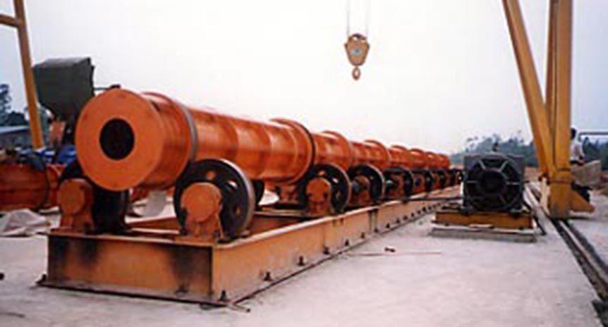 Chế tạo khuôn cột điện ly tâm