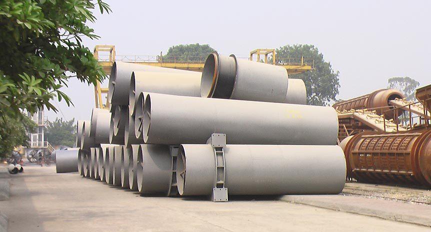 Chế tạo đường ống áp lực Nhà máy thủy điện Hương Sơn