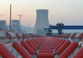 Lắp đặt hệ thống vận chuyển vật tư cho NM nhiệt điện Hongsa, Lào.